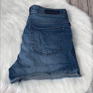 Rock & Republic pixie denim shorts size 14